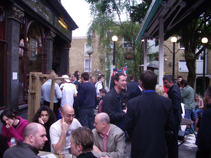 Islington PubCon - outside